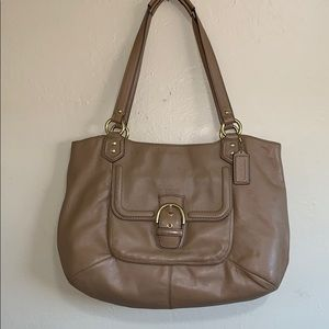 COACH 24961 Campbell Belle Leather Carryall